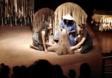 Pinocchio le Kikirga au théâtre des 4 Mains ( P3-P4)