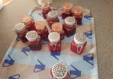 Confiture de fraises pour la fête des pères