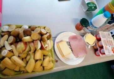 Petit déjeuner sain à l'école Saint Jean-Baptiste