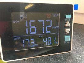 Un détecteur de CO2 qui tombe à pic avec la COVID !